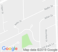 map of Schwalm Cir, St. Catharines